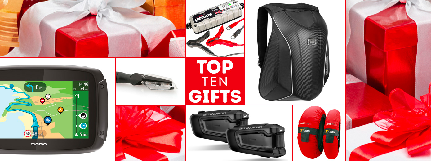 RIDERS TOP 10 GIFTS