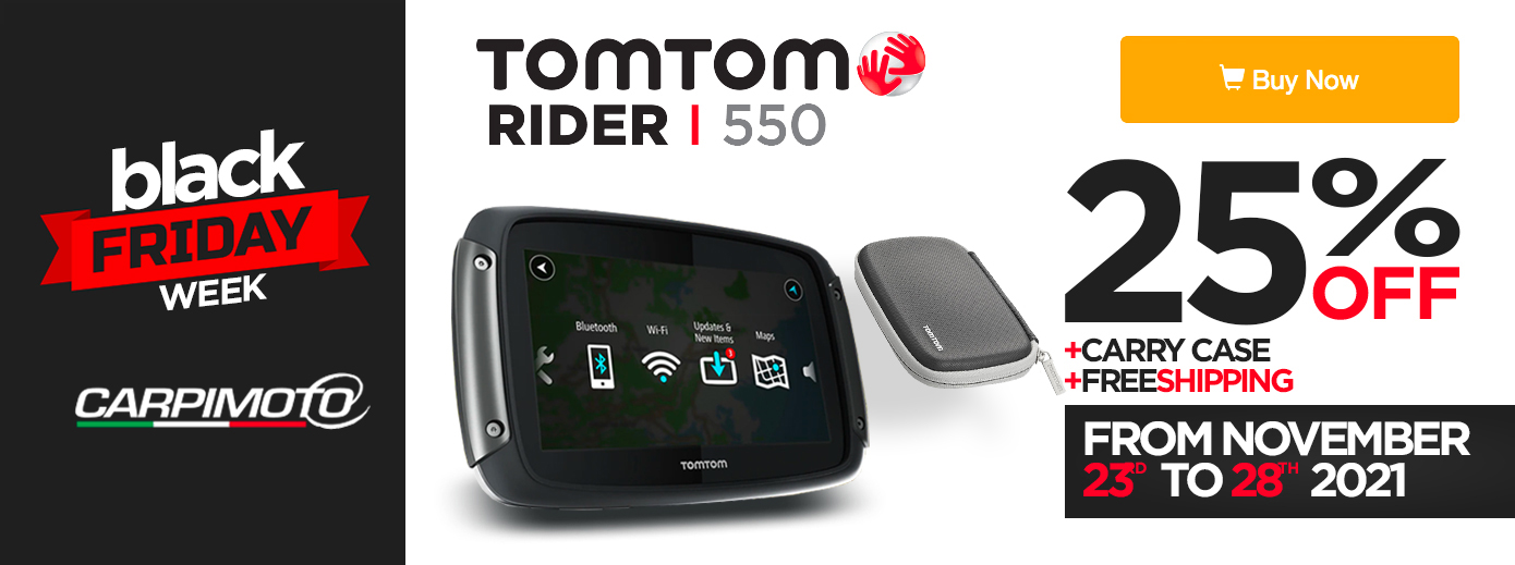 Black Friday TomTom Rider 550 Euro 299,90