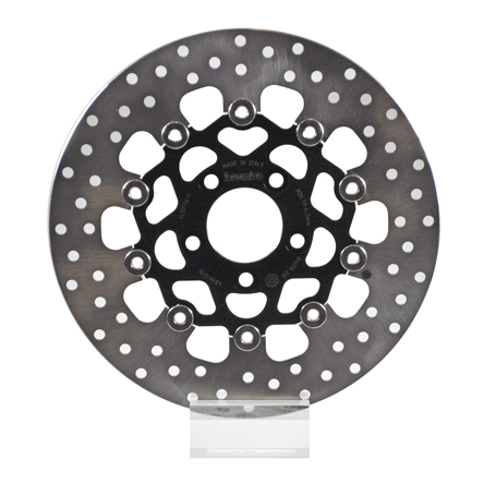 Brembo Serie Oro Brake Rotor 78B40828, one (1) Floating Rear Disk Harley  Davidson, dim  292x56mm