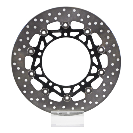 Brembo Serie Oro Brake Rotor 78B40831, one (1) Floating Front Disk, dim. 298x132 mm; TMAX 560 / 530 300mm oversize, requires optional spacers and new brake hoses