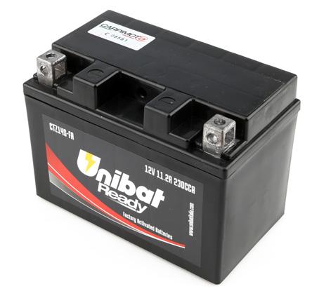 Unibat Battery Ctz14s Fa For Honda Nc750x 16 In Batteries
