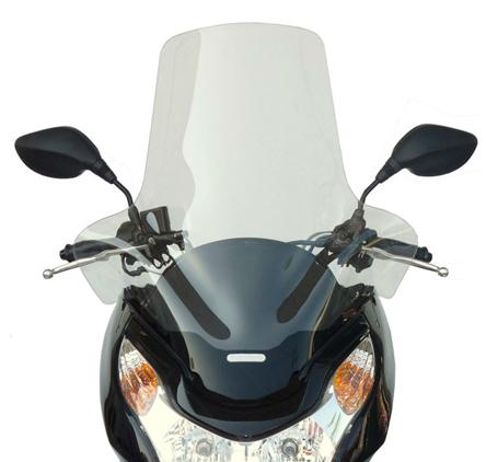 Fabbri Windshield 2810ex For Honda Pcx 125150 09 13 In Scooter