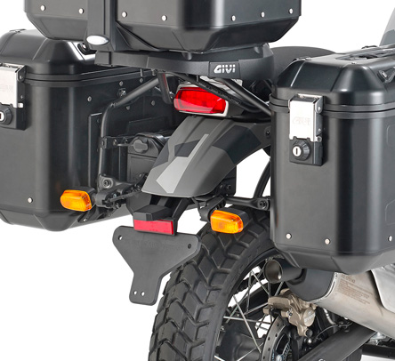 Givi PL9050 Specific Pannier Holder for Monokey Cases for Royal Enfield Himalayan
