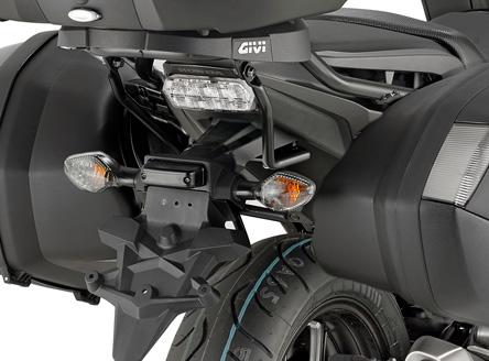 GIVI lato Portabagagli per valigie Monokey/® V35/Honda Integra 750