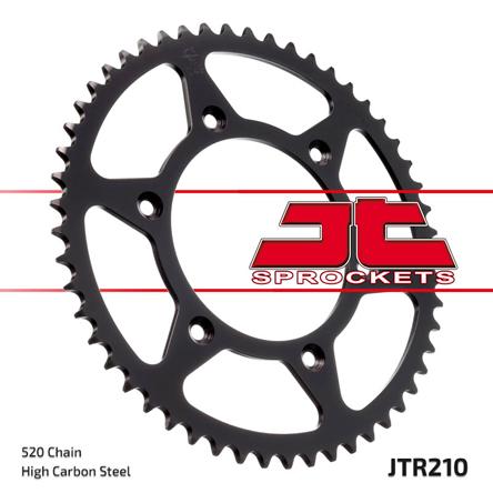 JT Rear Motorcycle Sprocket JTR210 50t fits Honda CR250 R-4 4