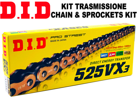 MV Agusta 1078 RR Brutale 08-09 DID 525 Pitch 110 Link Recommended Chain