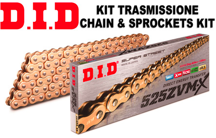 Tool Aprilia 750 Shiver 08-16 DID Upgrade Chain And Sprocket Kit