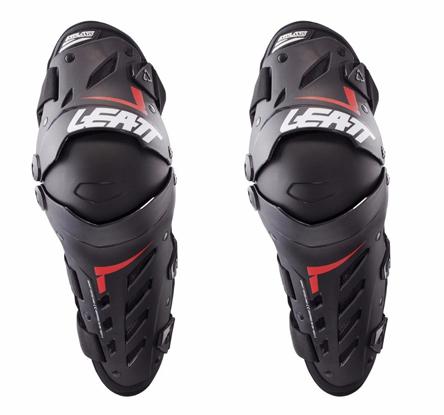 5017010181 Leatt Dual Axis Knee Guards L//XL Black Red