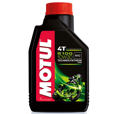 Motul 5100 10W-30, 1 liter Engine oil