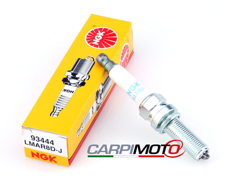 NGK LMAR8D-J Spark Plug, 1 piece for BMW R 1200 GS 13-18, R 1200 RT 13-, C 600 Sport, C 650 GT, BMW 12 12 8 532 942