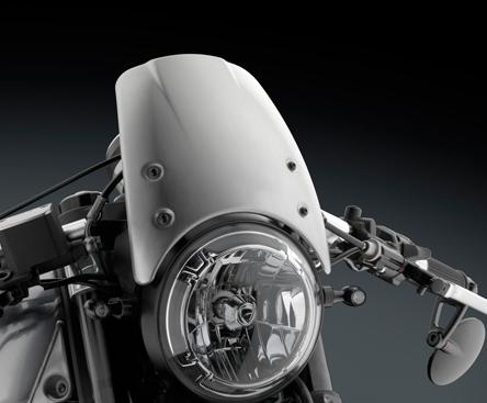 Cupolino Rizoma Cf010a Per Ducati Scrambler Classic In Cupolini Naked
