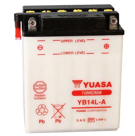 YB14L-A2 BATTERIA ORIGINALE YUASA AD ACIDO YAMAHA XTZ 750 SUPER TENERE 1998