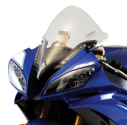 Zero Gravity Windscreen Yamaha R6 08-16, Corsa Series, color Clear
