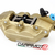 Brembo P4-30/34 Caliper, Color Gold, Front Left, with pads 07BB1535, 40mm mounting