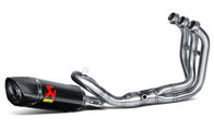 Akrapovic Complete Racing Exhaust System Yamaha MT-09 / FZ-09 with Carbon Sleeve/End muffler