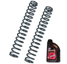 Bitubo Fork Springs Kit for Kawasaki ER-6n 09-11 , linear springs K=1.0, Fork Oil included
