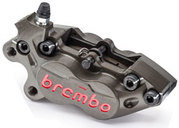 Brembo CNC Racing Caliper P4-30/34 front left with pads 07BB1535, 40mm mounting