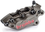 Brembo CNC Racing Caliper P4-30/34 front right with pads 07BB1535, 40mm mounting
