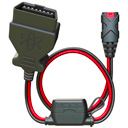 Noco GC012 X-Connect OBD2 Connector, works with Noco, Bosch 10A Fuse, Length 60cm