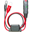 "Noco GC015 X-Connect 12 Volt Indicator, works with Noco, Bosch, 10A Fuse, Length 60cm, 3/8"" Eylet Terminals"