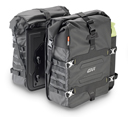 Givi Waterproof Side Bags Gravel-T GRT709 Canyon, 2 x 35 liters, Shoulder Strap