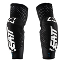 Leatt 3DF 5.0 Elbow Guards, TWO Protections, color White/Black, size L
