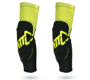 Leatt 3DF 5.0 Elbow Guards , TWO Protections, color Yellow/Black, size XL
