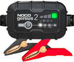 NOCO Genius 2 6V & 12V 1.1A UltraSafe Smart Battery Charger
