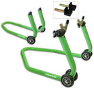 Paddock Front & Rear Combo Stands, Racing Green CM05 + CM06 Stands Offer