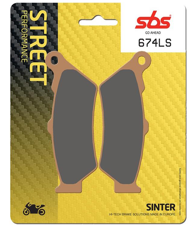 SBS HS Sintered Motorcycle Brake Pads 796HS