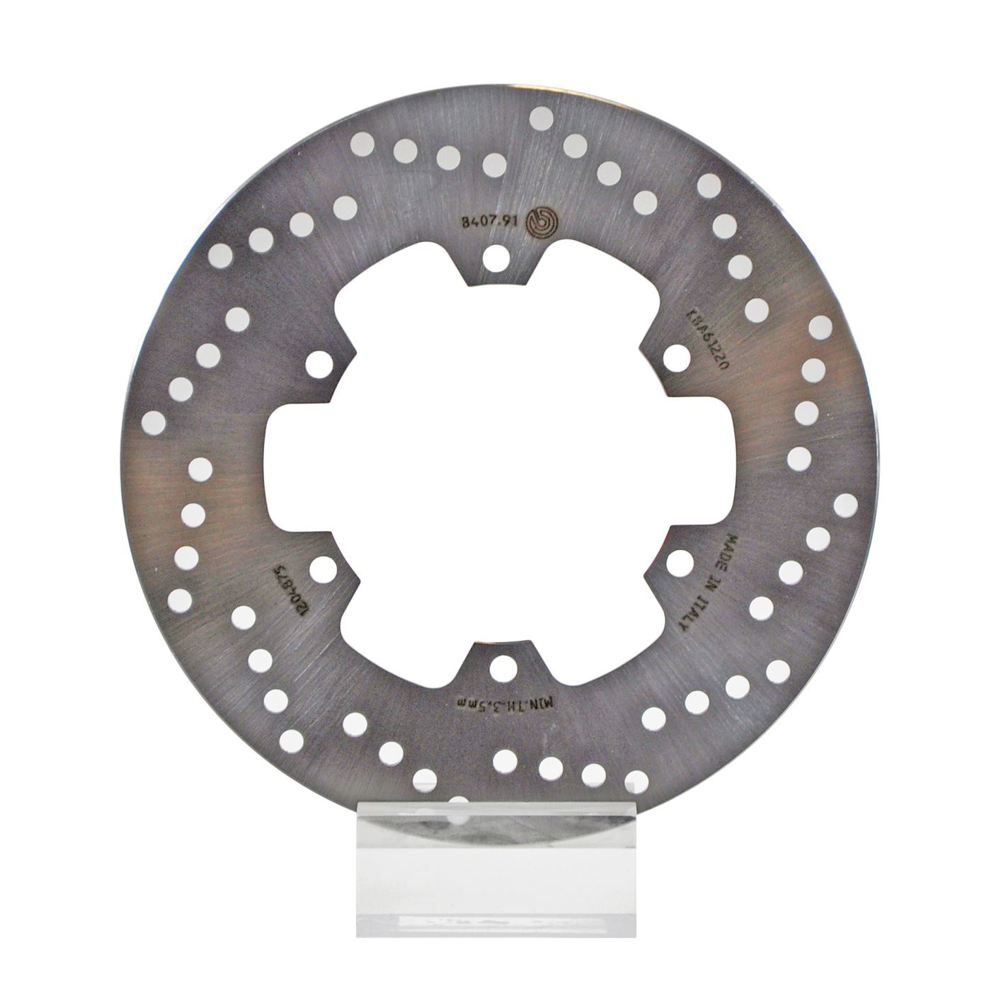 Brembo Serie Oro Brake Rotor 68B40791, one (1) Disk, dim 245x115 mm,  Thickness 4mm