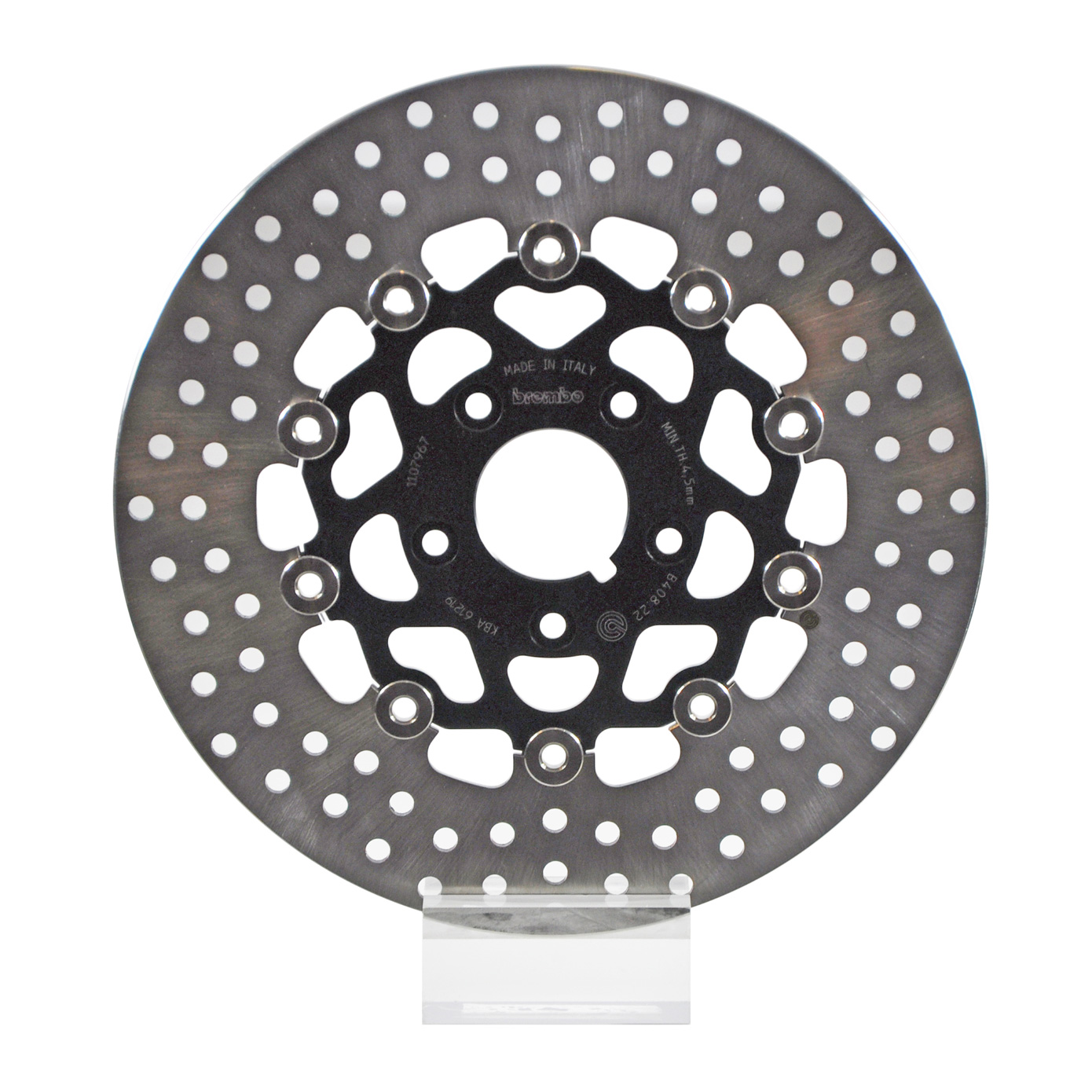 Brembo Serie Oro Brake Rotor 78B40822, one (1) Floating Front Disk for  Harley-Davidson produced before 1999, dim 290x50mm