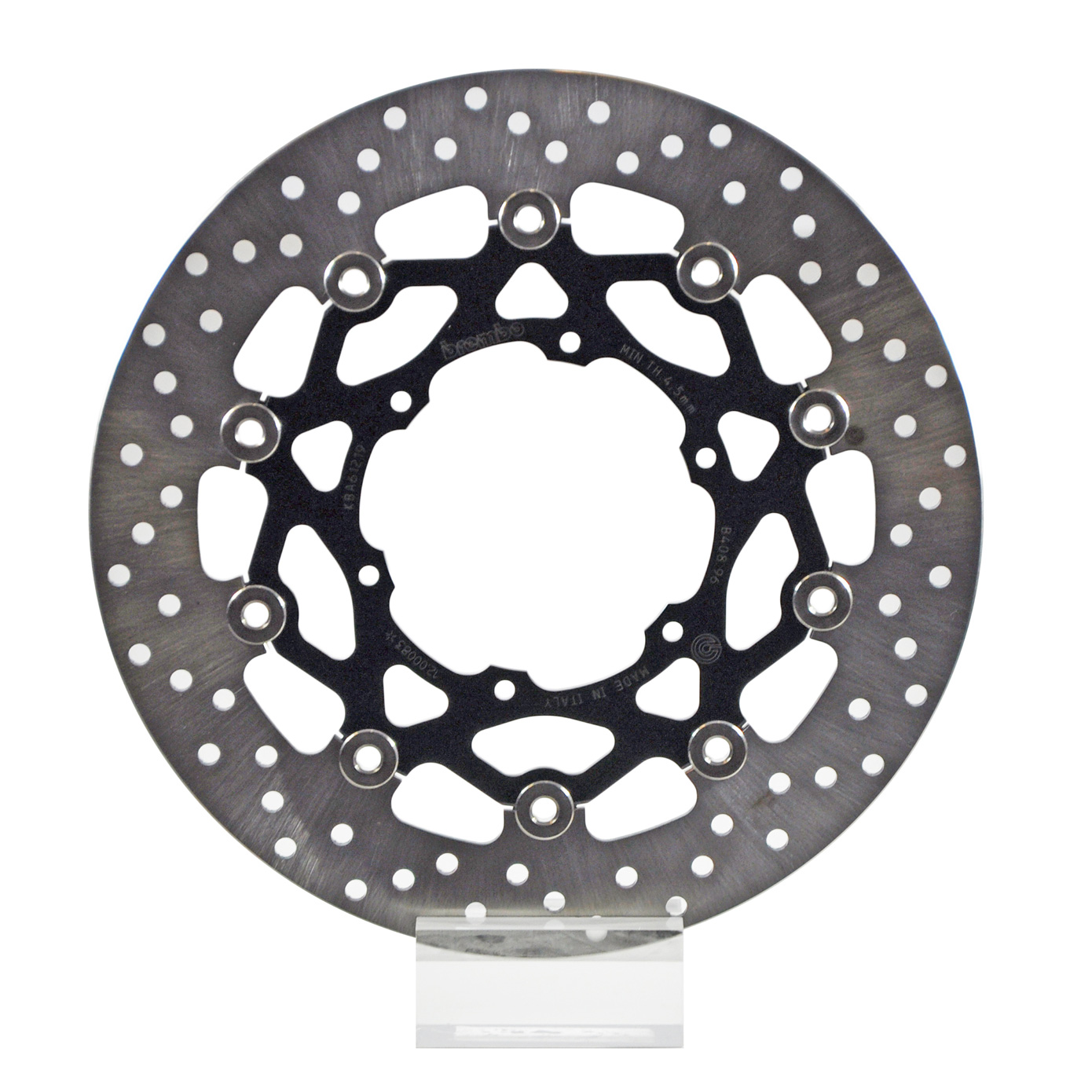 Brembo Serie Oro Brake Rotor 78B40896, one (1) Floating Front Disk, dim   300x105 mm