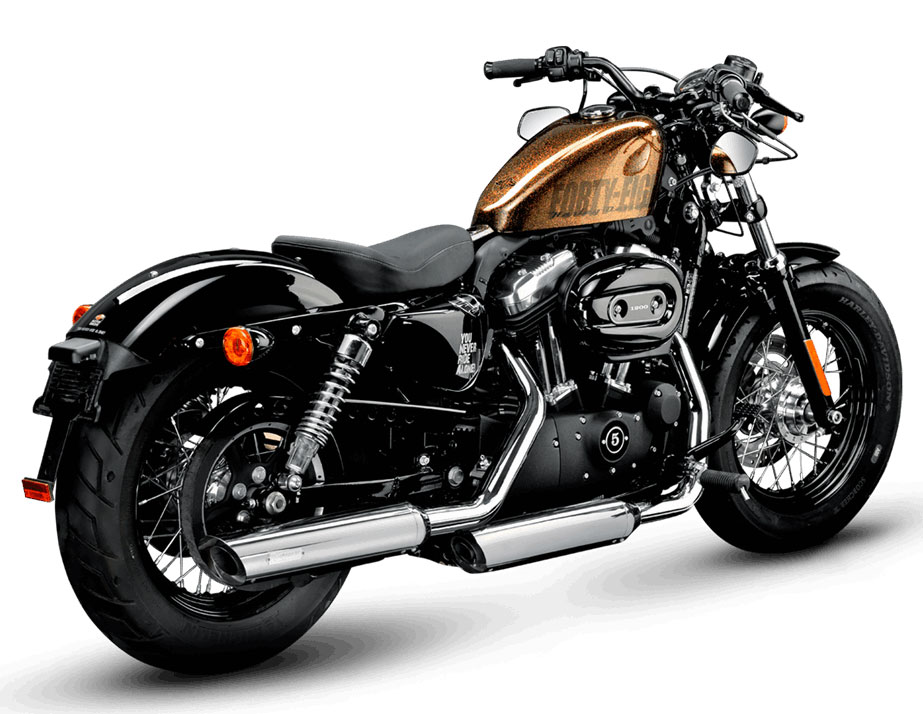 Akrapovic Street Legal Exhaust System Harley-Davidson Slip-On Line Chrome,  for Sportster S-HDSPSO2-HC