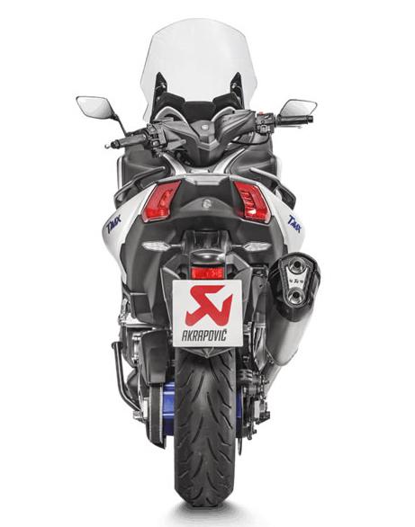 Akrapovic Complete Exhagonal Exhaust System Yamaha TMAX 530 17-