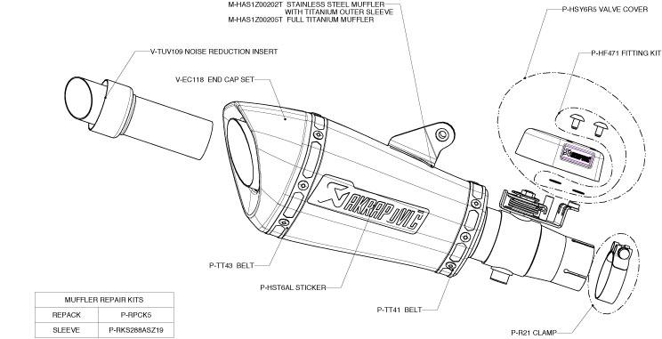 Yamaha R Parts Diagram