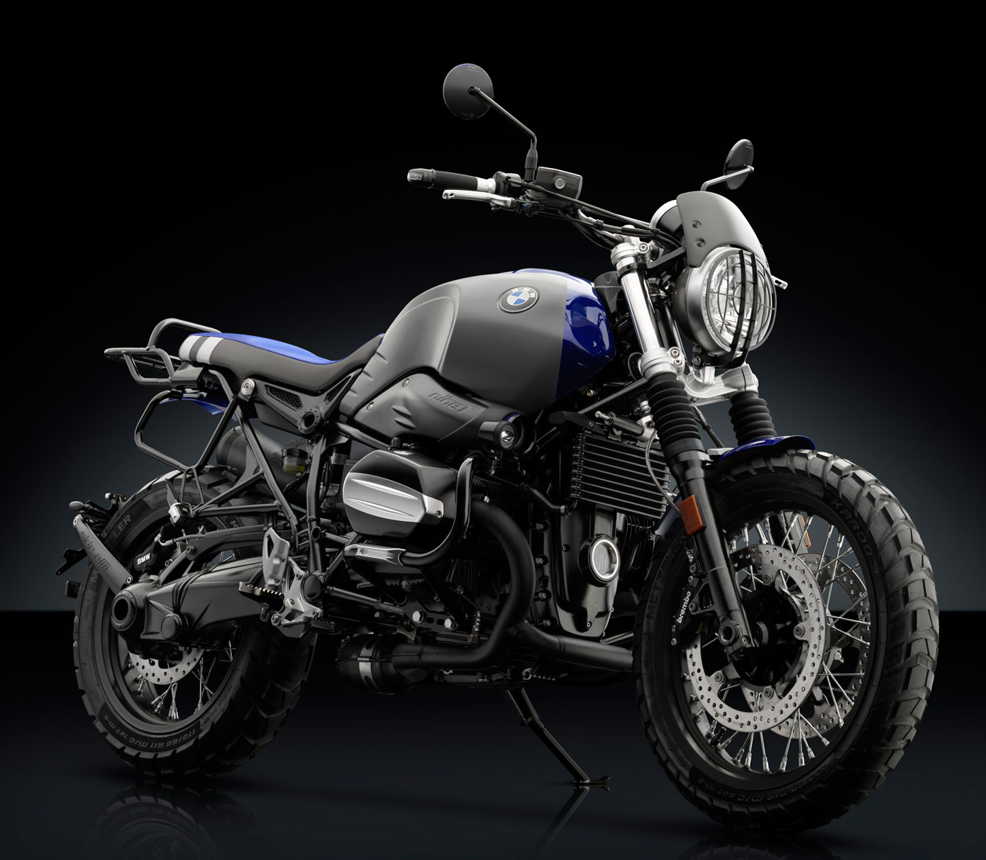 Rizoma Engine Guards for BMW R nineT, Racer, Scrambler, Urban G/S, with  replaceble sliders