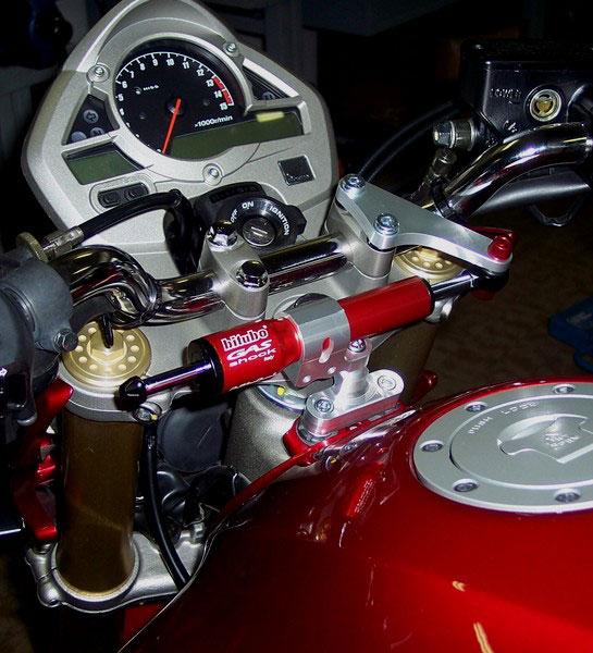 Steering Damper Kit146a1 For Honda Hornet 600 Abs 11 13 In Steering