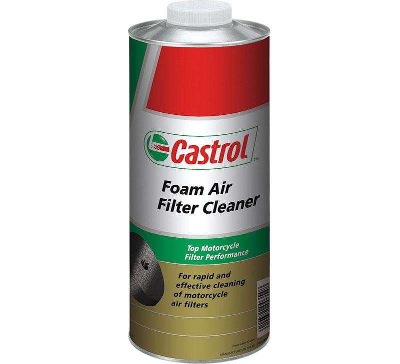 Foam Air Cleaner : Castrol air filter cleaner mz fafic l