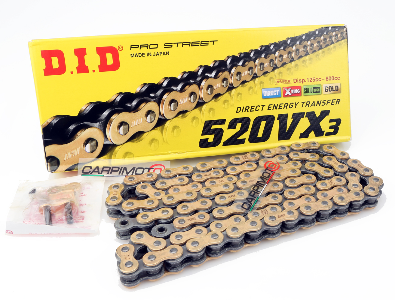 Chain Application: All 530 x 100 D.I.D 530 Standard Series Chain Chain Length: 100 Chain Type: 530 100 Links Color: Natural