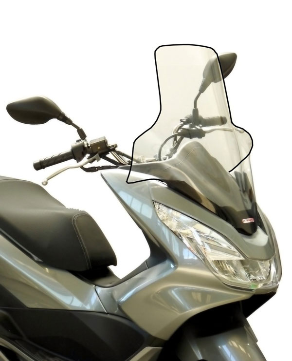 Fabbri Windshield 3140be For Honda Pcx 125150 14 In Scooter