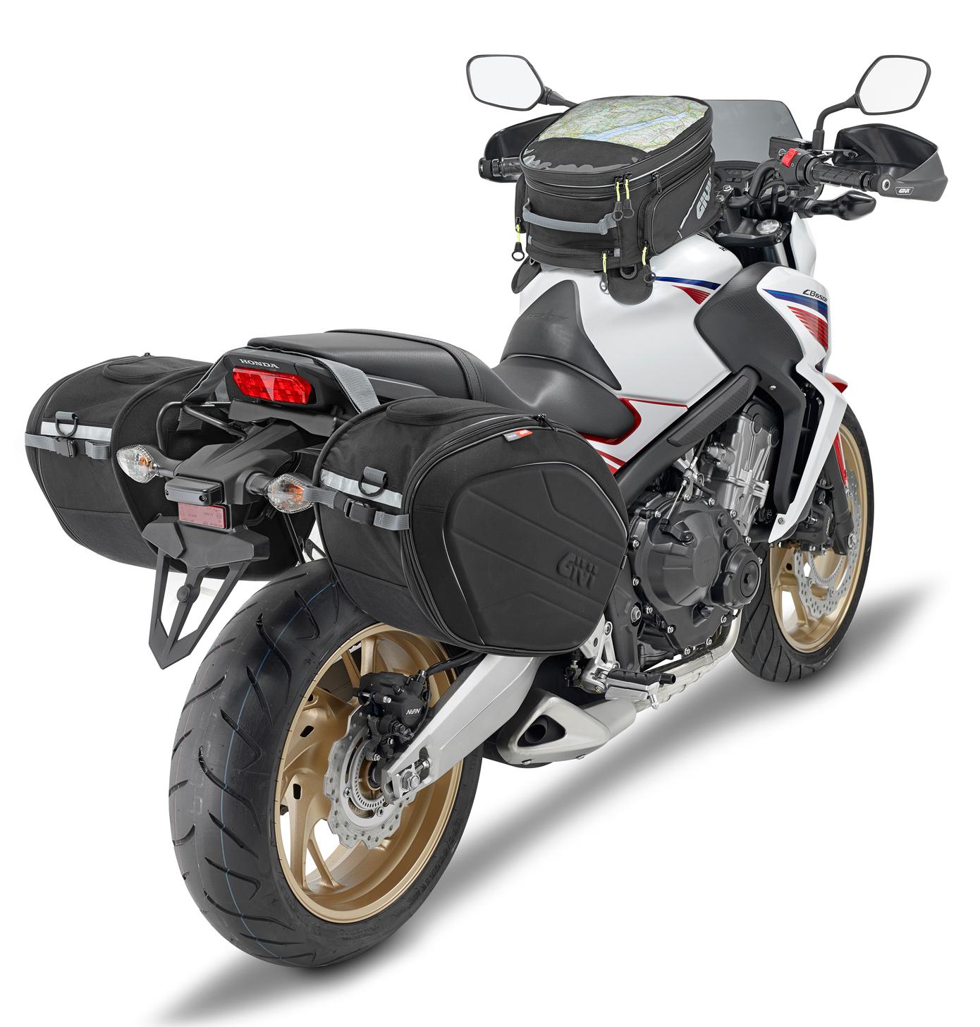 Borse Laterali Moto Ducati Diavel Givi EA101B 30 litro
