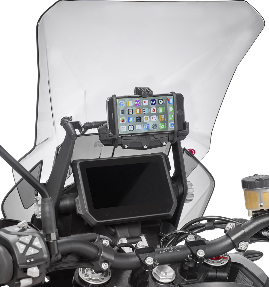 Givi Fb7706 Traversino Supporto Smartphone Navigatore Givi Fb7706 Per Ktm 1290 Super Adventure S R 17