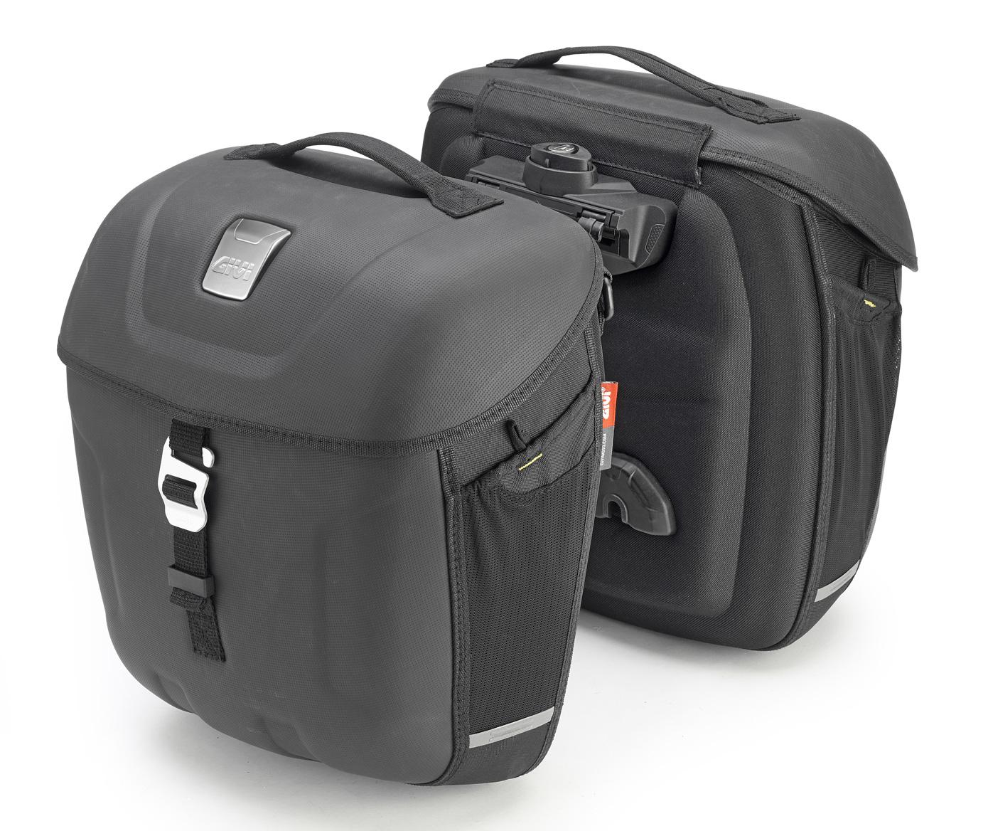 7970edbd Givi Expandable Saddle Bags Metro-T MT501 Multilock, 2 x 18 liters, Rain