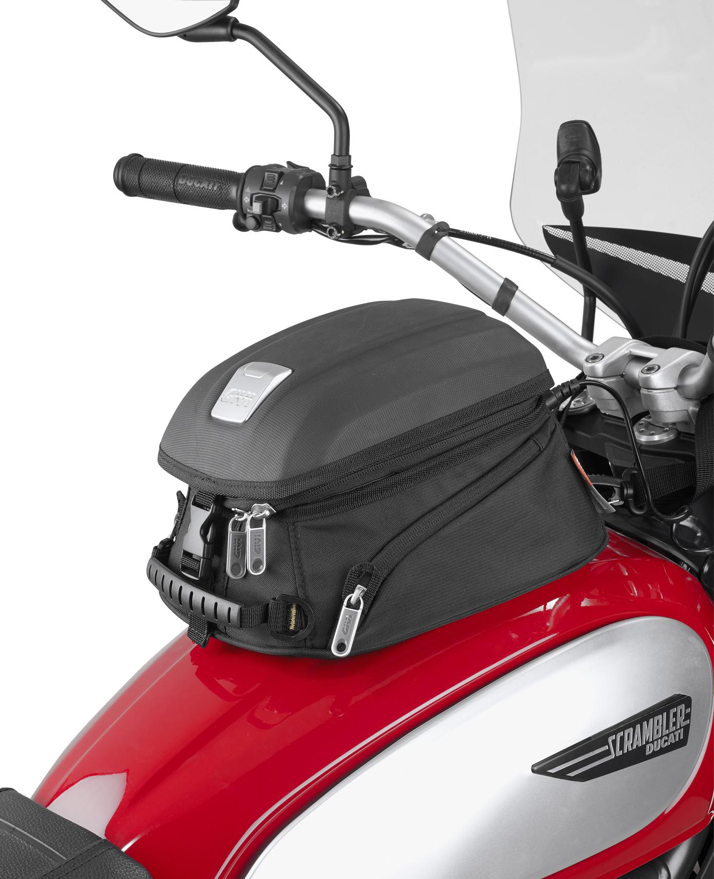 Givi Mt504 Fuel Tank Magnetic Bag 4 Liters Ducati 848 Evo Fuse Box Location