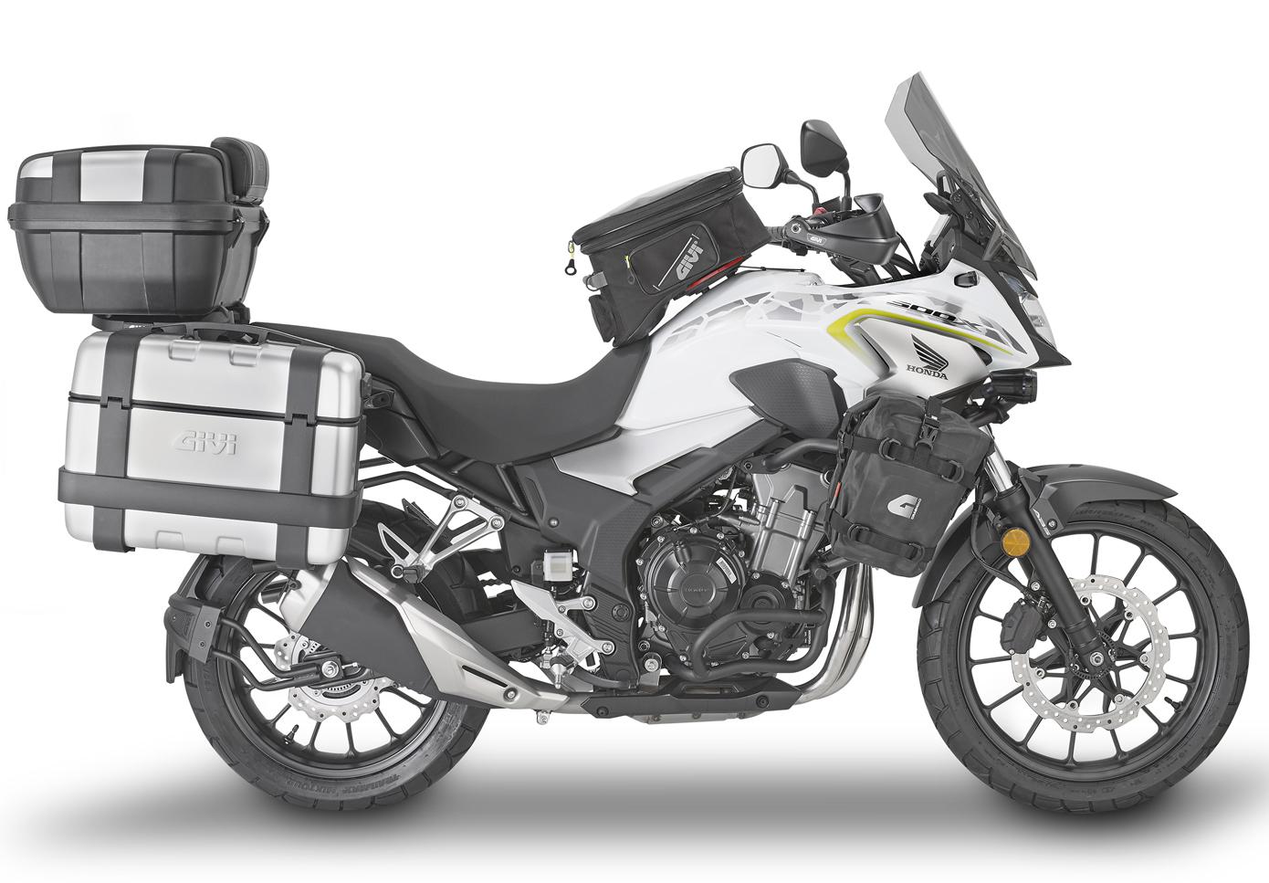 Paramotore specifico GIVI TN528 per Suzuki DL 1000 V-Strom 2004
