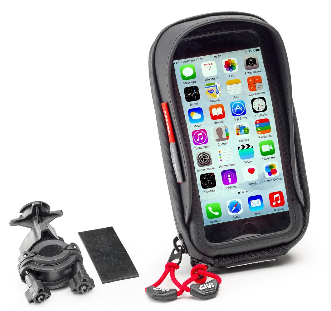 S957B PORTA SMARTPHONE GIVI PER MOTO PER SAMSUNG GALAXY A5 2017 DA MANUBRIO