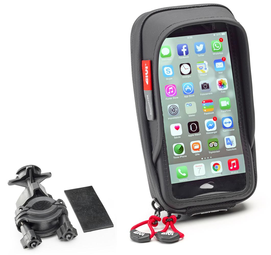 Givi s957b porta smartphone porta navigatore givi s957b - Porta navigatore givi ...