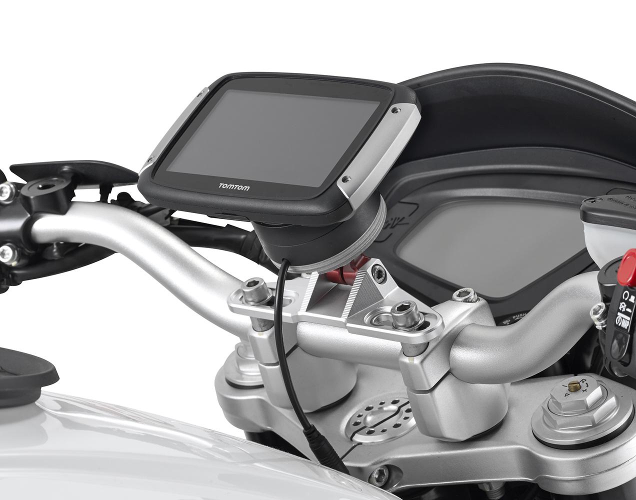 S901A Supporto Manubrio Smart Mount+05SKIT Kit Montaggio Kawasaki Versys 1000 15