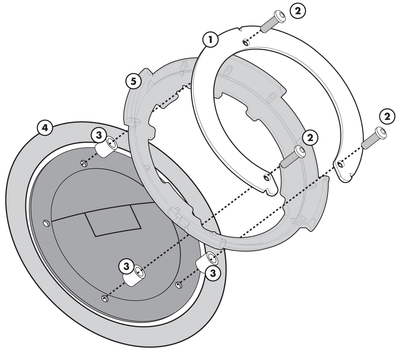 Givi Tank Bag Flange Bf08 2000 Ducati St2 Wiring Diagram Tanklock Fuel For Monster S2r S4r S4 Rs 1000 St4 848 1098 1198 821 1200